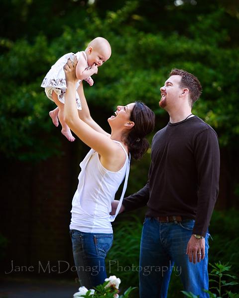 Lexington family portrait