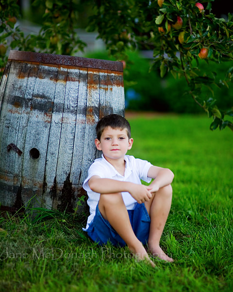 Orchard portrait