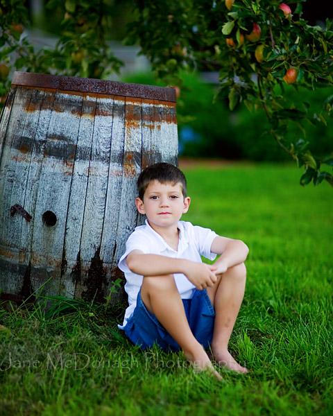 Orchard portrait