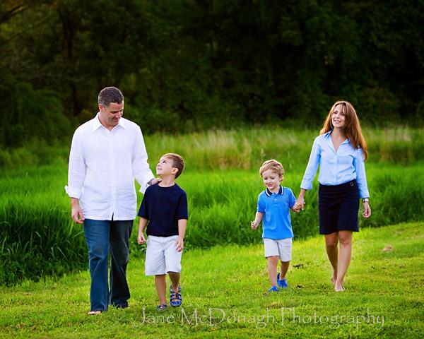 Massachusetts family portrait