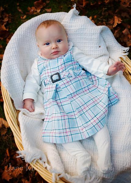 Newton baby portrait