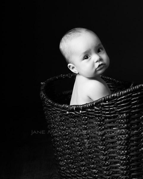 baby studio photograph
