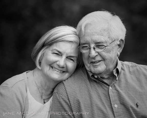 Grandparents portrait