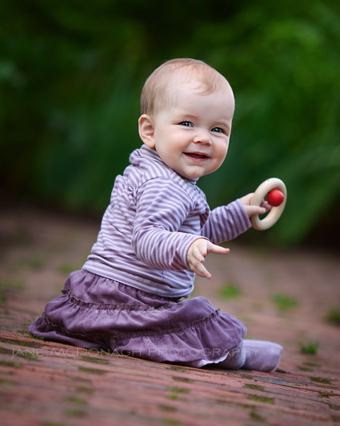 Baby portrait photography in Concord