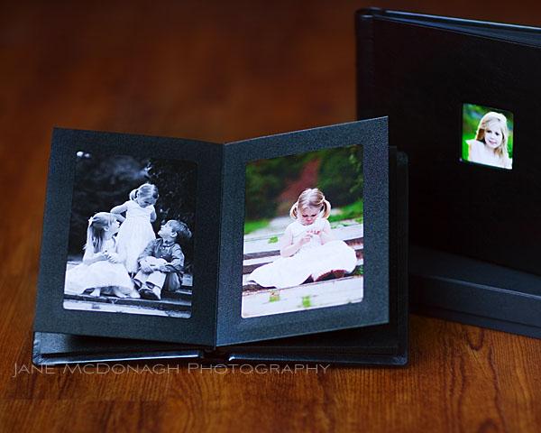 Photo album for family portraits
