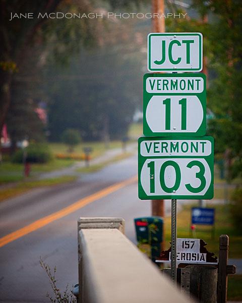Vermont road
