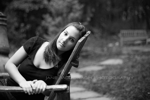Senior black & white