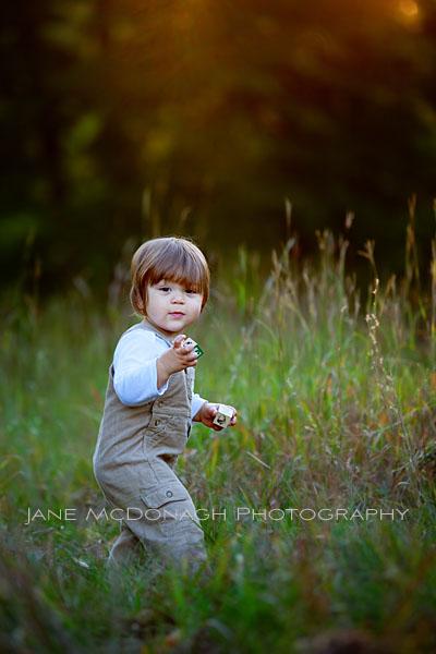 Toddler portrait