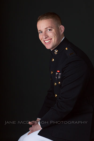 US Marine portrait