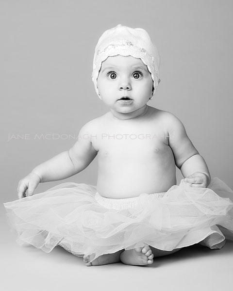 Boston baby studio portrait