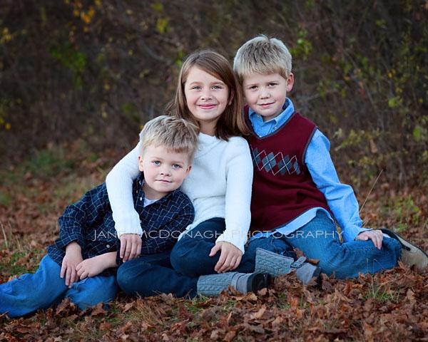 Fall siblings