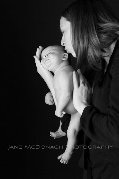 Mom and baby portrait photograph