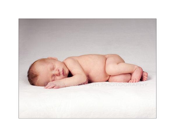 Baby studio photo
