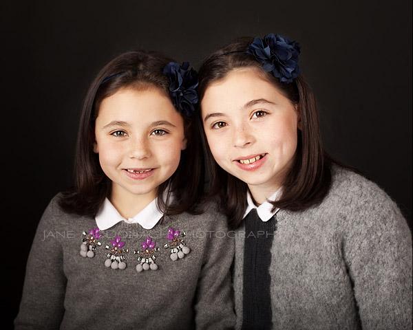 2 sisters in studio